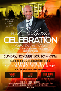 55th Birthday Celebration Pastor Donnie McClurkin @ Leonard's Palazzo | Great Neck | New York | United States