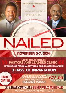 Nailed Conference @ House of Hope Atlanta | Decatur | Georgia | United States
